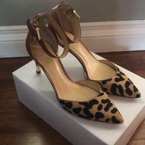 Sexy animal print stiletto heels - size 7.5